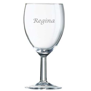 glas med navn