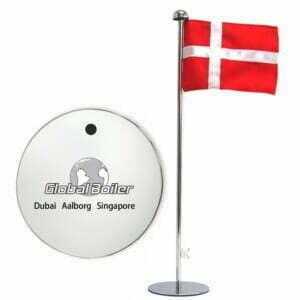 Bordflag med logo
