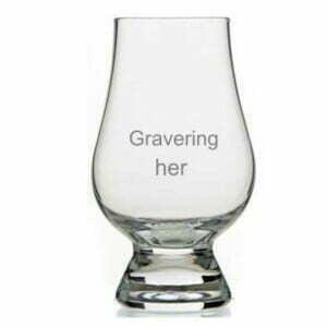 whiskyglas som gave