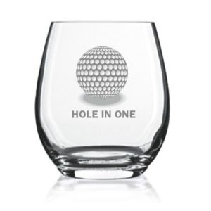 hole in one whiskyglas