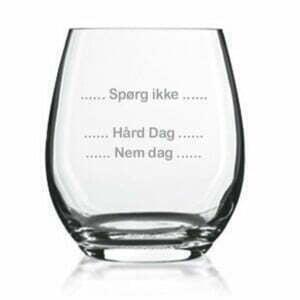 whiskyglas gave