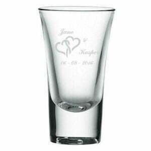 shotglas bryllupsgave