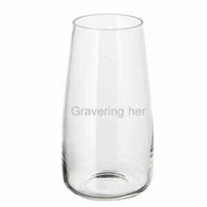 Graveret vase gave