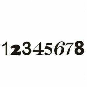 Husnummer sort