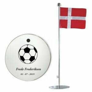Bordflag med fodbold