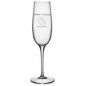 Champagneglas bryllup