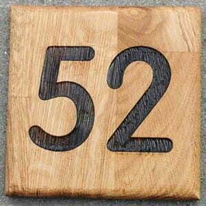 Nummer skilt