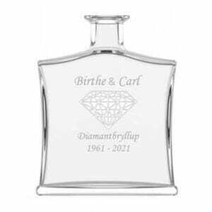 Karaffel-Diamantbryllup